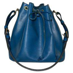 Louis Vuitton Petit Noé Epi Leder Blau Vintage von Louis  Vuitton - Prelovee.de #secondhandmode