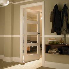 4 Panel White Interior Doors 266 - 1920's upside down 4 panel door | internal doors | pinterest