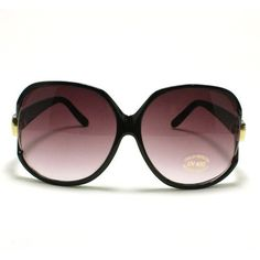 Extra Oversized Women's Round Sunglasses: Black 106Shades. $9.90