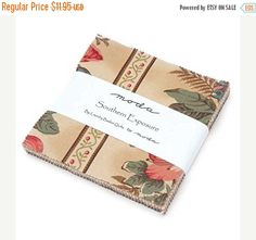 "PRESIDENTS SALE Southern Exposure~ Cotton Fabric~Charm Pack, 42~ 5"" squares~by Moda Fast Shipping, CP425"