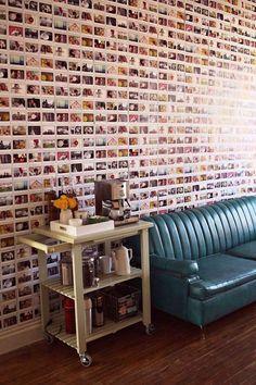 Beautiful Polaroid Photos Display Idea (27)