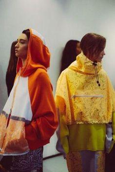 Sports lace: womenswear capsule trend