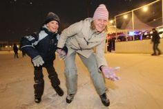 Hier haben Sie beim Eislaufen besonders viel Spaß