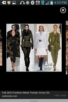 Army chic love