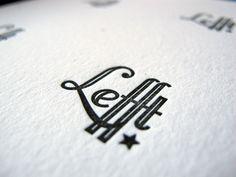 Letterpress Thank-You-cards for Lefft by MoetMoet Dutch Letterpress