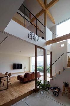 生駒の家 House in Ikoma: arbolが手掛けた和室です。