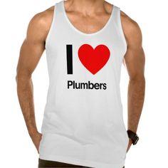 i love plumbers tanks Tank Tops