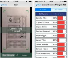 Quick Key Turns Your iPhone Into a Scanner. Imagine the possibilities with pre/post tests for data collection! Teaching Technology, Technology Tools, Educational Technology, Social Studies Classroom, Flipped Classroom, Teaching Activities, Teaching Reading, Scanner App, Exit Tickets