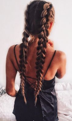 Fantastic braid work / Pin - Heatonminded