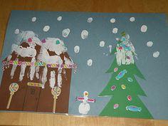 Handprint and Footprint Arts & Crafts: Handprint Gingerbread House- Guest Post from Casa Camacho