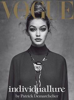 Gigi Hadid by Patrick Demarchelier for Vogue Italia April 2016 Cover - Valentino Fall 2016