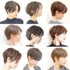 Pin by Muang​ on Short curly hair in 2019 Tomboy Hairstyles, Long Pixie Hairstyles, Girls Short Haircuts, Korean Short Hair, Short Curly Hair, Short Hair Cuts, Curly Hair Styles, Short Hair Outfits, Short Hair Hacks