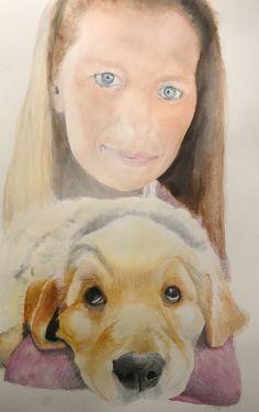 #puppy #art #watercolour