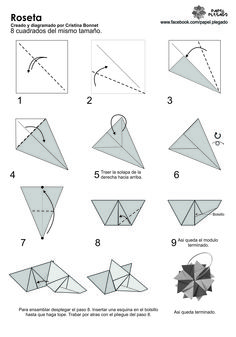 Roseta Autor: Cristina Bonnet Podes ver el tutorial en: https://www.youtube.com/watch?v=y7ggZku7Yz0