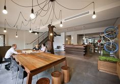 Office Fitout - Sustainability Awards finalists 2015 | Architecture And Design. Oxygen Halifax Studio