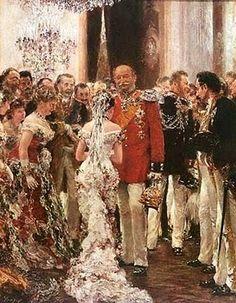 German Painter Adolf von Menzel (1815-1905)