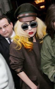 Lady Gaga wearing MYKITA - Mykita / Eye Like http://www.eye-like.fr/portfolio/mykita/
