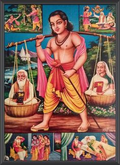 Krishna Art, Hare Krishna, Sri Rama, Litho Print, Indian Gods, Lord Shiva, Hinduism, Old Antiques, Mythology