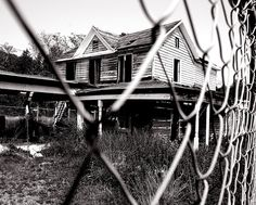 For Sale Outside the Abandoned House With the Fence #3 by andertho, via Flickr