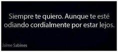 Te quiero ....