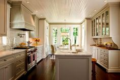 Decor Inspiration | American Four Square, Renovations by Anne Decker Architects