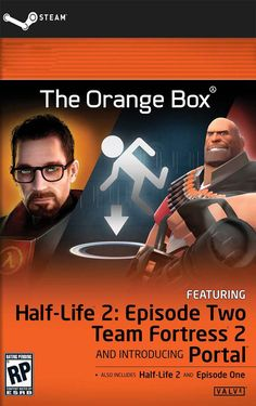 The Orange Box (STEAM GIFT) DIGITAL 7,25€