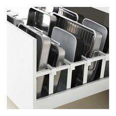 MAXIMERA Drawer, high - white, 80x60 cm - IKEA