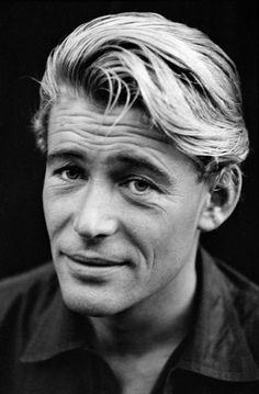 Peter O'Toole (1932-2013), photo by David Hum (1962)