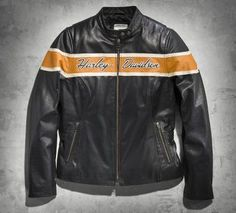 Women's Victory Lane Leather Jacket. Get it at St. Croix Harley-Davidson www.stcroixhd.com 715-246-2959