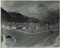 Press Photo Grand Coulee Dam 1940-1949 - spa39967