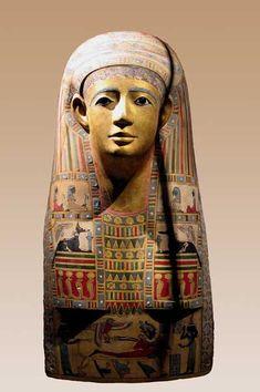 Mummy mask,early roman period
