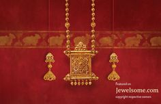 #Jewellery inspired from Indian temple