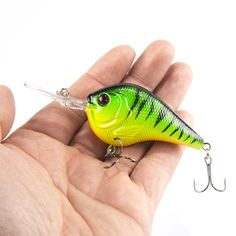 2017 SEALURER 95mm 11g Salmon 5 Color Set Fishing Lure Crankbait Seawater lures Bionic Shrimp Prawn Tackle rattling bait olta recreational fishing ** AliExpress Affiliate's Pin. Offer can be found by clicking the VISIT button