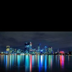 Perth Western Australia Perth Western Australia, Reflection Photography, Westerns, New York Skyline, Scenery, Destinations, Architecture, Creative, Travel
