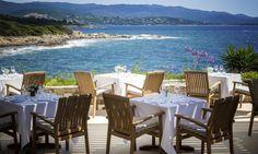 Restaurant La Carte Postale in Porticcio, Corsica #restaurant #seaview #corsica