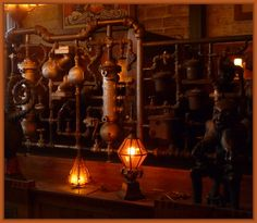 industrial, dark, industrial revolution