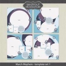 March Mayhem Template Set 2