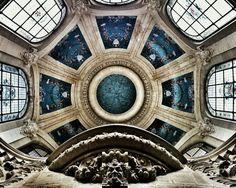 Imagem de architecture, blue, and art