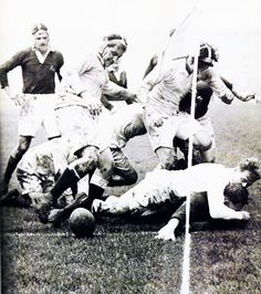 Rugby is football without equipment....for real men.
