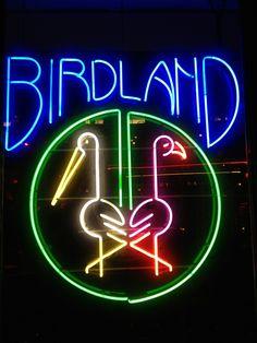 Birdland Jazz Club in New York, NY