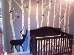 Epic 70 Ideas Kids Woodland Toddler Room https://mybabydoo.com/2017/03/29/70-ideas-kids-woodland-toddler-room/ White has a rather calming and soothing effect and therefore, would continue to keep your child relaxed. Naturally, in regards to picking colors for a child's room, a small knowledge of color psychology i.e. the effect of colors on someone's mood aids in a suitable selection too. Darker shades on the opposite hand is likely to make the room appear smaller.
