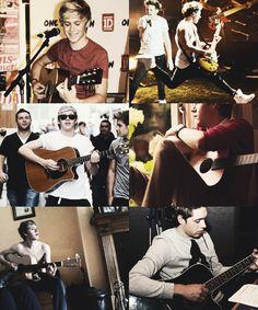 Niall + Guitars ❤