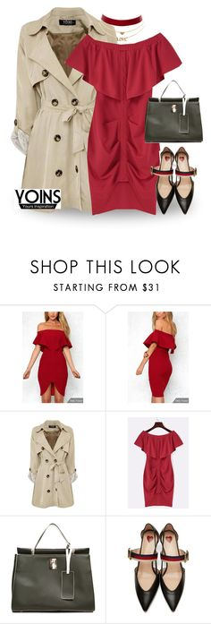 """""""yoins"""" by kayira ❤ liked on Polyvore featuring Gucci, Charlotte Russe, yoins and loveyoins"""