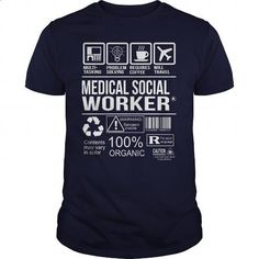 Awesome Tee For Medical Social Worker - #teas #T-Shirts. GET YOURS => https://www.sunfrog.com/LifeStyle/Awesome-Tee-For-Medical-Social-Worker-106136421-Navy-Blue-Guys.html?60505