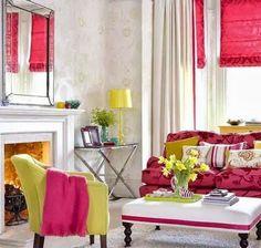Decoración de Salas con Colores Alegres - Para Más Información Ingresa en: http://fotosdesalas.com/decoracion-de-salas-con-colores-alegres/