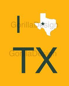 Baylor University I Love Texas