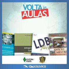 """#DicaCia  Mais uma Editora da nossa Livraria Universitária!   Agora é a vez da Vozes ter """"voz"""" por aqui!   Vem nessa!http://s55.me/Q9muSFE"""