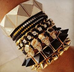 Rank & Style #ArmParty #TopTen #Bracelets  Love!