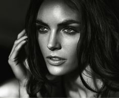 Hilary Rhoda for Numéro Tokyo#63 January/February 2013 by Vincent Peters