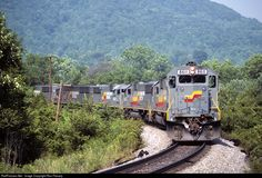 RailPictures.Net Photo: SBD 8611 Seaboard System EMD SD50 at Dryden, Virginia by Ron Flanary